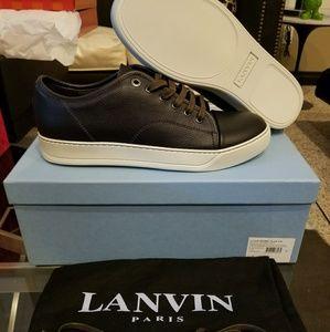 """Lanvin Cap Toe Sneaker """"Purple"""" UK sz 7"""